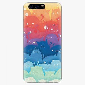 Plastový kryt iSaprio - Cats World - Huawei P10 Plus