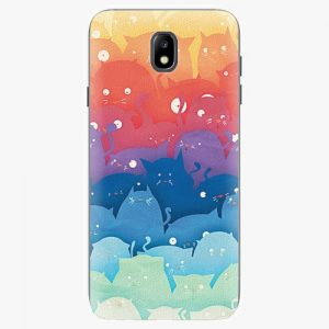 Plastový kryt iSaprio - Cats World - Samsung Galaxy J7 2017
