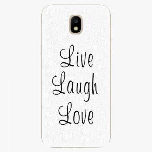 Plastový kryt iSaprio - Live Laugh Love - Samsung Galaxy J5 2017