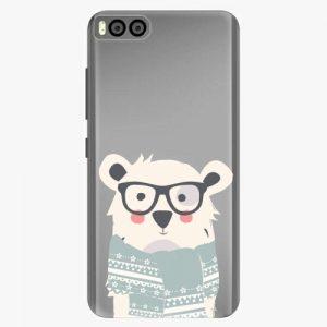 Plastový kryt iSaprio - Bear with Scarf - Xiaomi Mi6