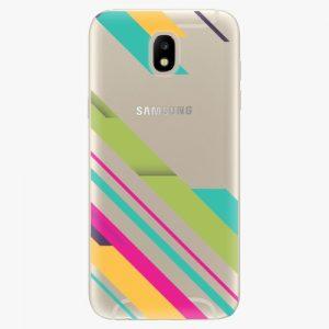 Plastový kryt iSaprio - Color Stripes 03 - Samsung Galaxy J5 2017