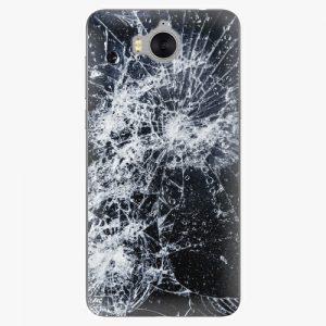 Plastový kryt iSaprio - Cracked - Huawei Y5 2017 / Y6 2017