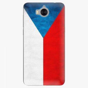 Plastový kryt iSaprio - Czech Flag - Huawei Y5 2017 / Y6 2017