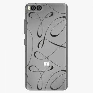Plastový kryt iSaprio - Fancy - black - Xiaomi Mi6