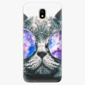 Plastový kryt iSaprio - Galaxy Cat - Samsung Galaxy J5 2017