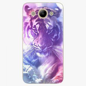 Plastový kryt iSaprio - Purple Tiger - Huawei Y3 2017