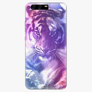 Plastový kryt iSaprio - Purple Tiger - Huawei P10 Plus