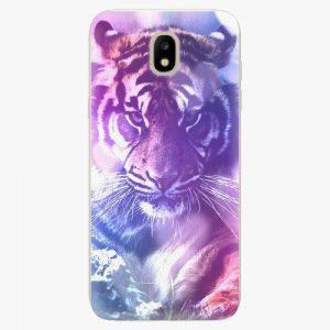Plastový kryt iSaprio - Purple Tiger - Samsung Galaxy J5 2017