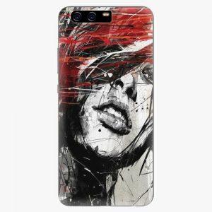 Plastový kryt iSaprio - Sketch Face - Huawei P10 Plus