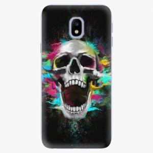 Plastový kryt iSaprio - Skull in Colors - Samsung Galaxy J3 2017