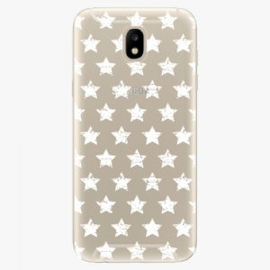 Plastový kryt iSaprio - Stars Pattern - white - Samsung Galaxy J5 2017