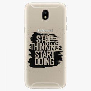 Plastový kryt iSaprio - Start Doing - black - Samsung Galaxy J5 2017