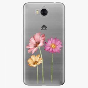 Plastový kryt iSaprio - Three Flowers - Huawei Y5 2017 / Y6 2017