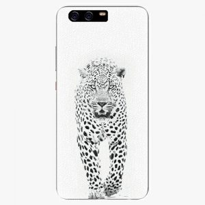 Plastový kryt iSaprio - White Jaguar - Huawei P10 Plus