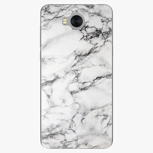 Plastový kryt iSaprio - White Marble 01 - Huawei Y5 2017 / Y6 2017