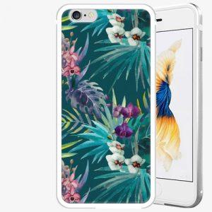 Plastový kryt iSaprio - Tropical Blue 01 - iPhone 6 Plus/6S Plus - Silver