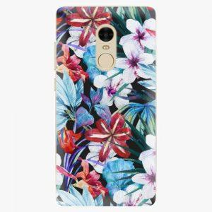Plastový kryt iSaprio - Tropical Flowers 05 - Xiaomi Redmi Note 4