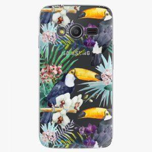 Plastový kryt iSaprio - Tucan Pattern 01 - Samsung Galaxy Trend 2 Lite