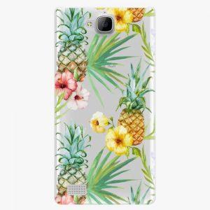 Plastový kryt iSaprio - Pineapple Pattern 02 - Huawei Honor 3C