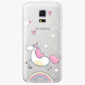 Plastový kryt iSaprio - Unicorn 01 - Samsung Galaxy S5 Mini