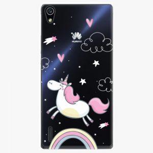Plastový kryt iSaprio - Unicorn 01 - Huawei Ascend P7