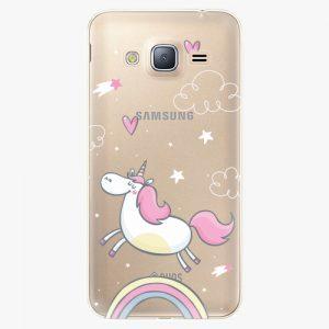Plastový kryt iSaprio - Unicorn 01 - Samsung Galaxy J3