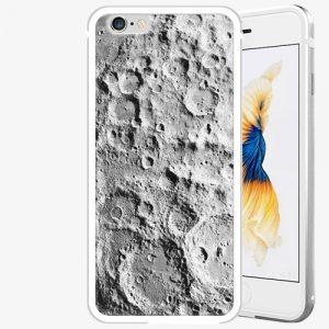 Plastový kryt iSaprio - Moon Surface - iPhone 6 Plus/6S Plus - Silver