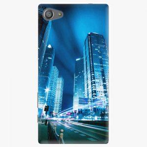 Plastový kryt iSaprio - Night City Blue - Sony Xperia Z5 Compact