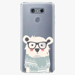 Plastový kryt iSaprio - Bear with Scarf - LG G6 (H870)