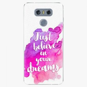 Plastový kryt iSaprio - Believe - LG G6 (H870)