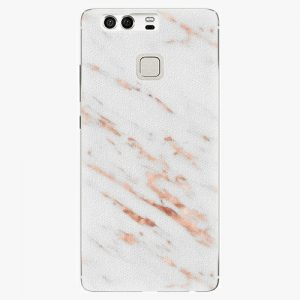 Plastový kryt iSaprio - Rose Gold Marble - Huawei P9