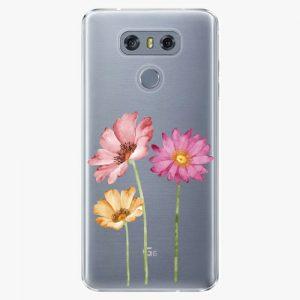 Plastový kryt iSaprio - Three Flowers - LG G6 (H870)