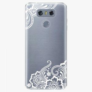 Plastový kryt iSaprio - White Lace 02 - LG G6 (H870)