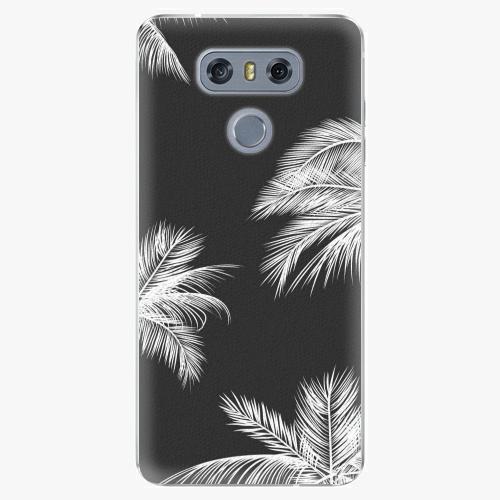 Plastový kryt iSaprio - White Palm - LG G6 (H870)