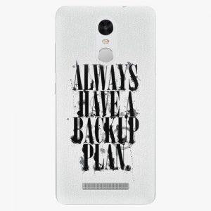 Plastový kryt iSaprio - Backup Plan - Xiaomi Redmi Note 3 Pro