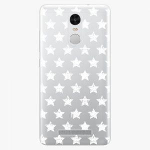 Plastový kryt iSaprio - Stars Pattern - white - Xiaomi Redmi Note 3 Pro