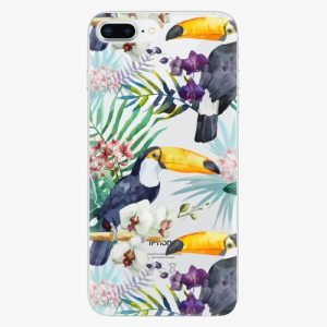Plastový kryt iSaprio - Tucan Pattern 01 - iPhone 8 Plus