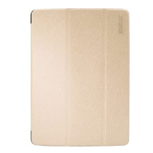 Kožený kryt / pouzdro Smart Cover iSaprio pro iPad 9.7 (2017) zlatý