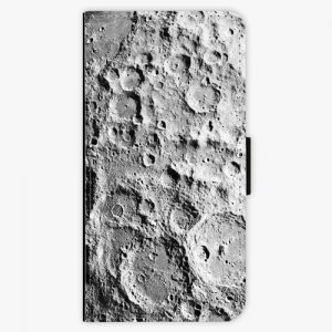 Flipové pouzdro iSaprio - Moon Surface - iPhone 8