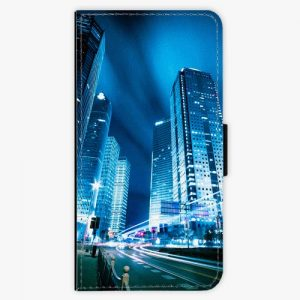 Flipové pouzdro iSaprio - Night City Blue - Huawei P9