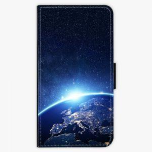 Flipové pouzdro iSaprio - Earth at Night - Huawei P10 Plus