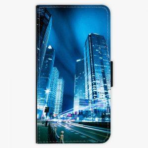Flipové pouzdro iSaprio - Night City Blue - Huawei P10 Plus