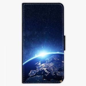 Flipové pouzdro iSaprio - Earth at Night - Nokia 6