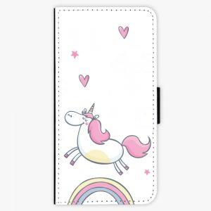 Flipové pouzdro iSaprio - Unicorn 01 - iPhone 7 Plus