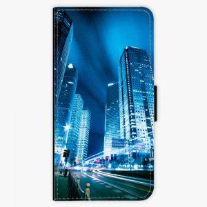 Flipové pouzdro iSaprio - Night City Blue - iPhone 7 Plus