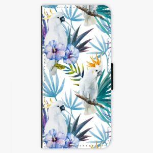 Flipové pouzdro iSaprio - Parrot Pattern 01 - Samsung Galaxy Note 8