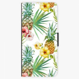 Flipové pouzdro iSaprio - Pineapple Pattern 02 - Samsung Galaxy Note 8
