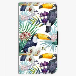 Flipové pouzdro iSaprio - Tucan Pattern 01 - Samsung Galaxy A5