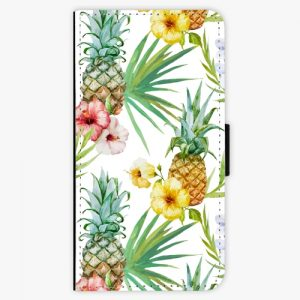 Flipové pouzdro iSaprio - Pineapple Pattern 02 - Samsung Galaxy A5