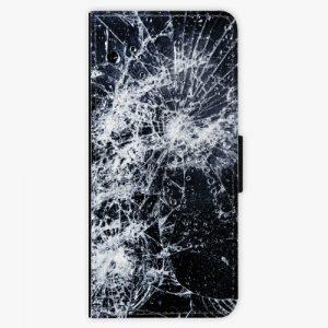 Flipové pouzdro iSaprio - Cracked - Samsung Galaxy Note 8